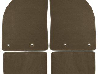 Oak Coverking Front Custom Fit Floor Mats for Select Lincoln Navigator Models 70 Oz Carpet