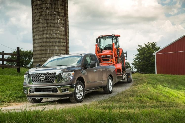 Nissan Titan Towing Capacity