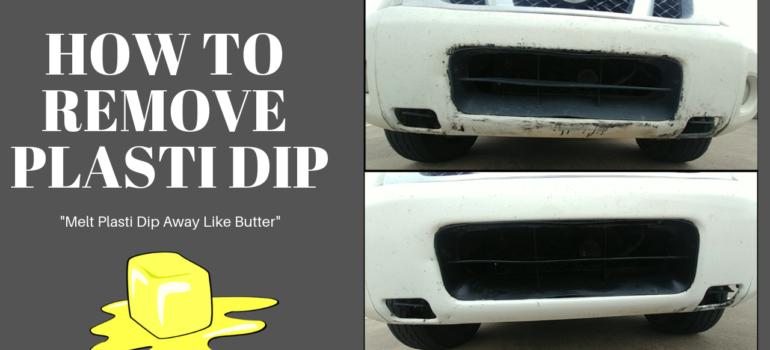 Plasti Dip Removal